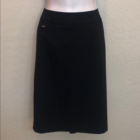 Calvin Klein Dresses & Skirts - Calvin Klein Black Pencil Skirt Size 10